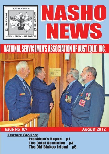 Issue 109 - Nasho Front Page
