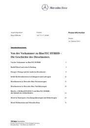 Die Geschichte des Dieselmotors - Daimler