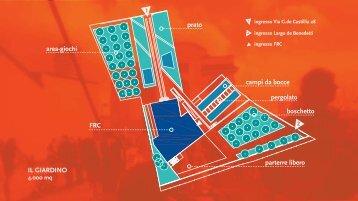Scarica le planimetrie degli spazi della Fondazione Riccardo Catella