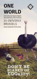 One World Brussels catalogue