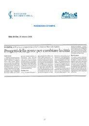 Scarica il pdf - Fondazione Riccardo Catella