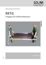 RKTG - SEG Solar Energy GmbH