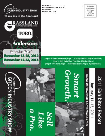 Exhibitor Brochure PDF - New York State Turfgrass Association