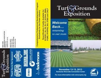 Attendee Brochure PDF - New York State Turfgrass Association