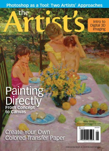 The Artist's Magazine, May 2012 - Artist's Network