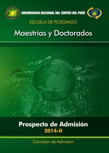 Maestrías y Doctorados