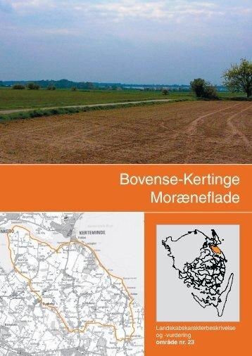 Landskabskarakterbeskrivelse og vurdering af Bovense-Kertinge ...