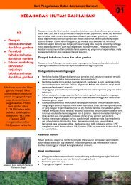 kebakaran hutan dan lahan - Wetlands International Indonesia ...