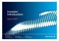 Investor Introduction