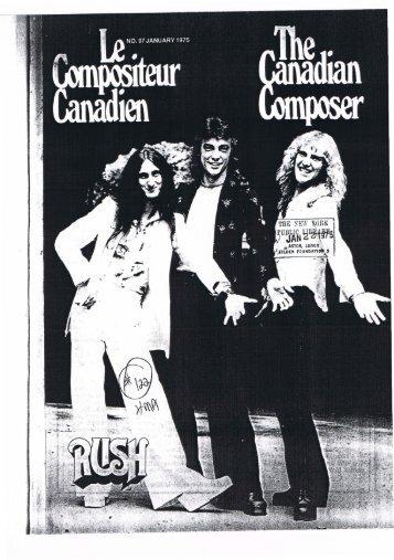 Rock 'n' roll Rush - Cygnus-X1.Net