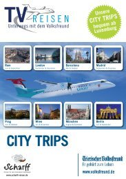 Prospekt City Trips_City Trips Flyer.qxd - Scharff-Reisen.de