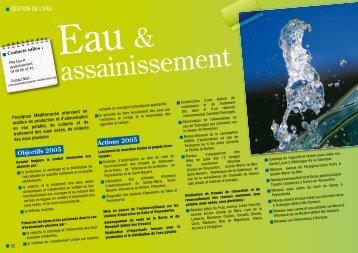 Eau & assainissement - Communauté d'agglomération de ...