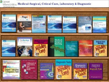 Medical-Surgical, Critical Care, Laboratory & Diagnostic - Lippincott ...