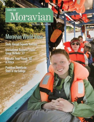 Prelude: Change Your Life—Go Away - Moravian College