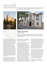 Villa Convivio - Merrioncharles.com