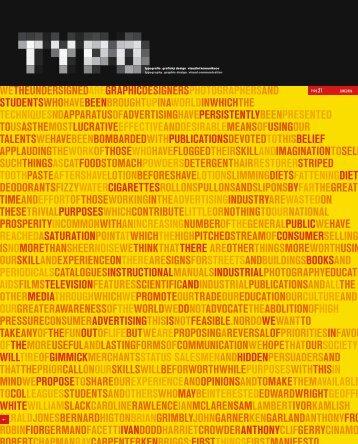 TYPO - Svět tisku