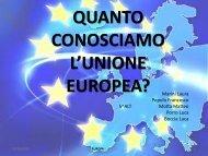 Quanto conosciamo l'Unione Europea