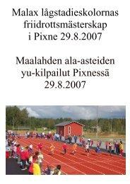 Resultat - Malaxedu.fi