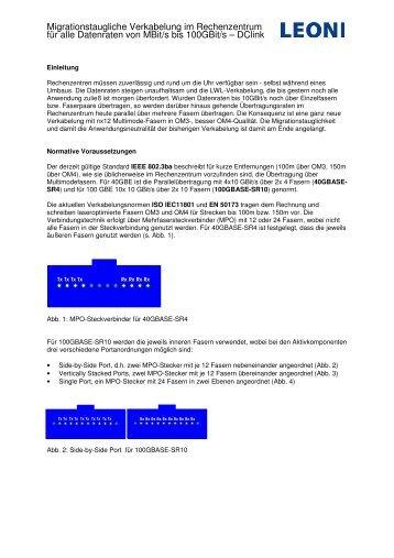 Erfahren... - LEONI Infrastructure & Datacom