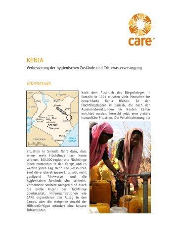 Projektinformationen - bei Charity Bonn