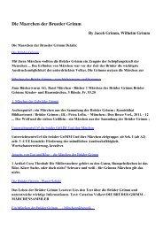 Download Die Maerchen der Brueder Grimm pdf ebooks by Jacob ...