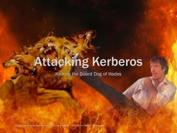 Kicking the Guard Dog of Hades - Attacking Microsoft Kerberos  - Tim Medin(1)