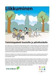 Toimintapaketti kouluille ja päivähoidolle - Turku