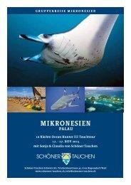 PDF Datei Ocean Hunter III - Schöner Tauchen