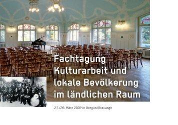 Tagungsprogramm - Museenland Graubünden