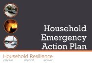 Household Emergency Action Plan - Hampshire County Council