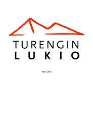 Vuosikertomus Turengin lukio 2013 printti