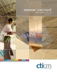 RAPPORT D'ACTIVITÉ - cticm