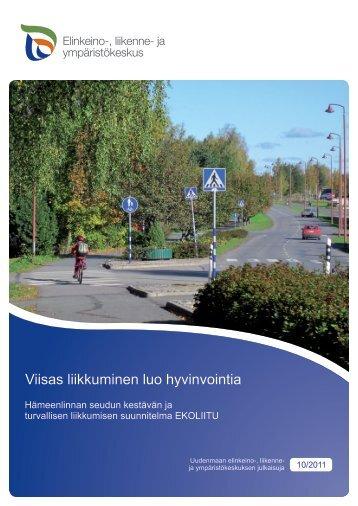 Hämeenlinnan seudun kestävän ja turvallisen ... - Hämeen liitto