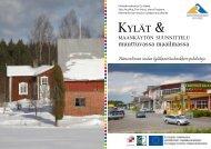 Kylät & maankäytön suunnittelu muuttuvassa maailmassa
