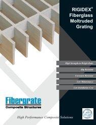 RIGIDEX Fiberglass Moltruded Grating - Fibergrate Composite ...