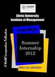 Christ University Institute of Management