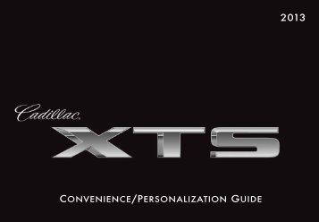 CONVENIENCE/PERSONALIZATION GUIDE - Cadillac
