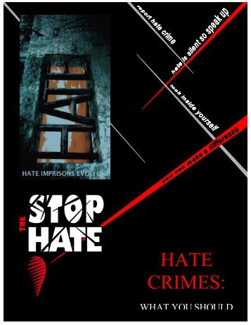 2010 Guidelines for Police Services - Alberta Hate Crimes Committee