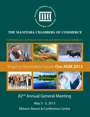 Manitoba Chambers of Commerce AGM Proceedings 2013