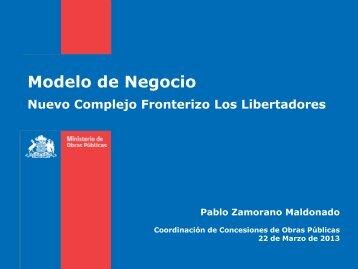 Modelo de Negocio - Coordinación de Concesiones de Obras ...