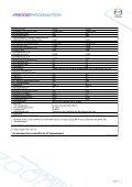 Mazda6 - Technische Daten - Mazda Autohaus Rottmann - Page 4