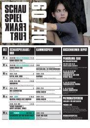 REMAKE::ROSEMARIE - Schauspiel Frankfurt