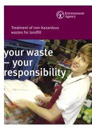 Treatment of non-hazardous wastes for
