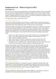 Employment law - What to expect in 2013(PDF - The Lawyer