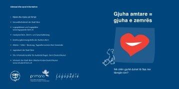 Gjuha amtare = gjuha e zemrës - Buchstart