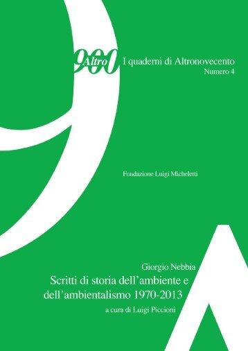 AltroNovecento-4_Nebbia-Piccioni_Scritti-di-storia-dell-ambiente