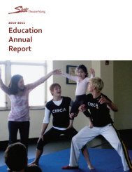 Education Annual Report - State Theatre