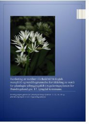Biologisk mangfold-rapport for Hundingsland (GNR 17) - Lyngdal ...