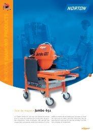 Scie de maçon Jumbo 651 - Norton Construction Products