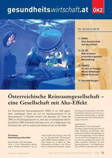 Healthcare Day 2012 St. Veit im Pongau: Neues ... - Schaffler Verlag